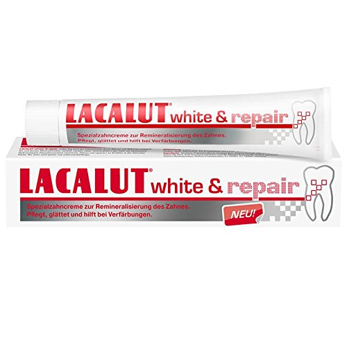 Lacalut white & repair Zahnpasta 75ml 3er Pack (3x 75ml)