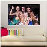 sjkkad Leinwanddruck Spice Girls Poster Wandplakatdruck auf