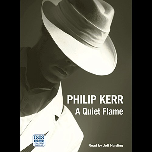 A Quiet Flame audiobook cover art