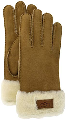 Guantes de Mujer Classic by UGG pielguantes (M - beige)