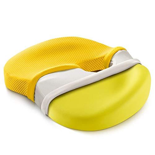 SXFYGYQ Coussin Design Ergonomique Confortable Respirant mémoire Coton Coussins Belle Fesses Pad,Color