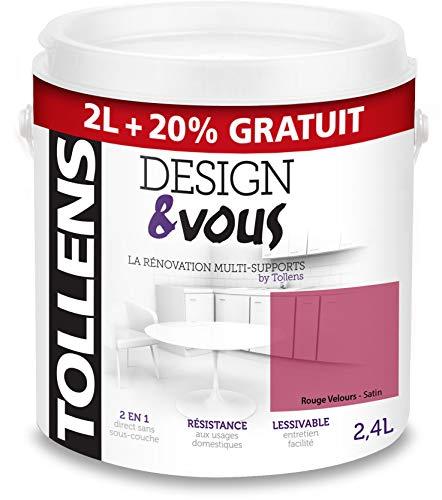 TOLLENS 3T28095 Pintura, Rouge Velours