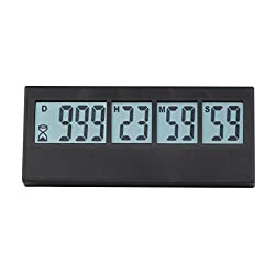 Digital Countdown Days Timer - AIMILAR 999 Days Count Down Timer for Vacation Retirement Wedding Lab Kitchen (3-Year Warranty)