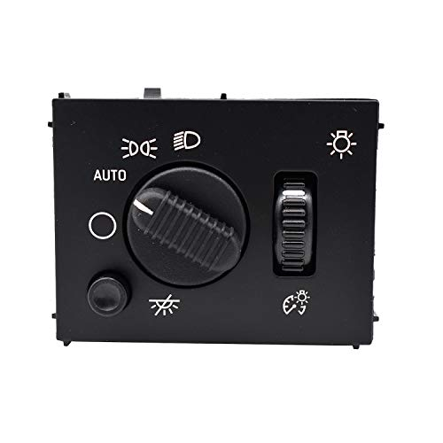 A//C Heater Climate Control Panel Module with Rear Window Defogger Switch Fits for 1996-2000 Chevy Suburban Tahoe GMC Yukon Replaces 9378805 15-72547