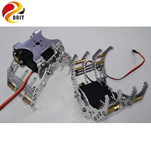 Buy Part & Accessories Robot Gripper Manipulator Mechanical Arm Paw Clamp for Servos G8 - (Color: wi...