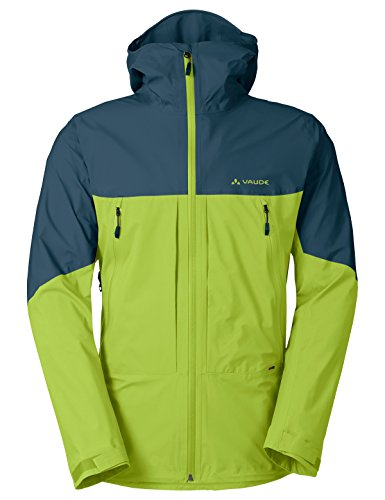 VAUDE Croz 3l II Veste Homme, Chute Green, FR : S (Taille Fabricant : S)