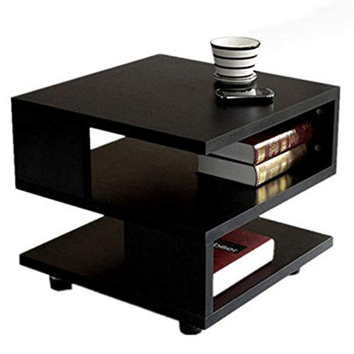 Moderne salontafel van massief hout met modern en minimalistisch design voor de woonkamer, minimalistisch design, ideaal voor planten of leeslampen
