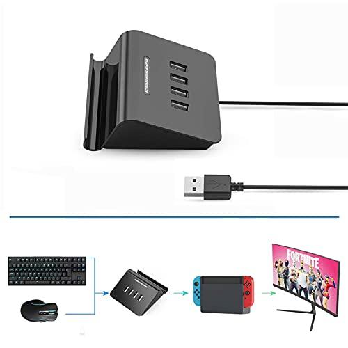 Delta essentials FO202 Adaptador Convertidor de Teclado y Ratón para Playstation 3/Playstation 4/Nintendo Switch/Xbox One/Xbox 360