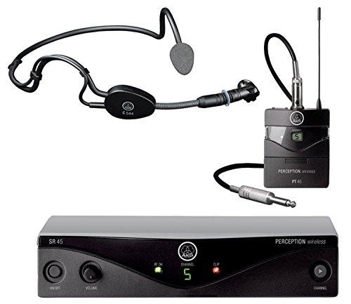 AKG PW 45 Sport Set ISM Headset-Wireless-System, Drahtlos-System