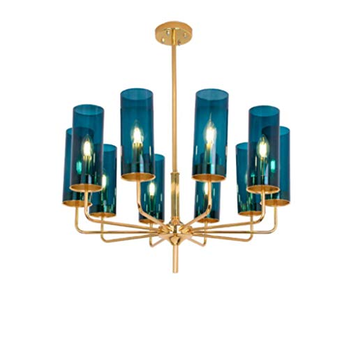 Art Hängeleuchte LED Kronleuchter Seil Kronleuchter Kronleuchter Modern Gold Kronleuchter Modern Glas Kronleuchter Bunt Jugendstil Kronleuchter Stilvolle Esszimmer Beleuchtung/Schlafzimmer Lampe.