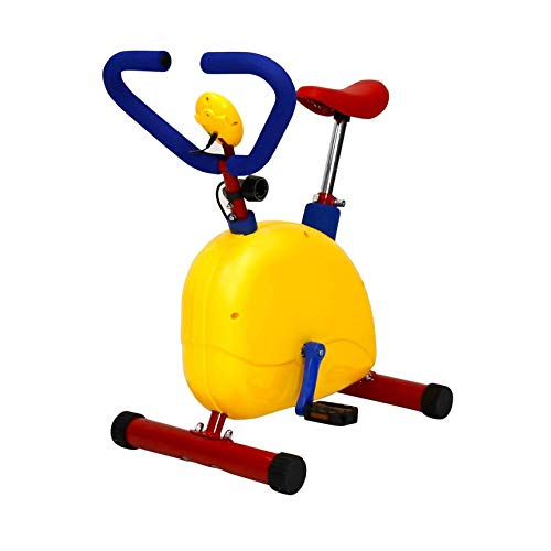 RIYIFER Bicicleta estática para el hogar,Bicicleta estática para Interiores Adecuada para niños,Bicicleta estática de Altura Ajustable con Asiento cómodo