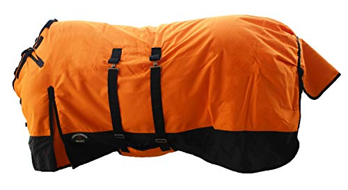 CHALLENGER 76' 1200D Turnout Waterproof Horse Winter Blanket Heavy...