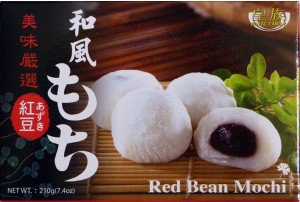 Torte da dessert giapponesi Mochi au haricot Rosa, confezione da 6 pezzi, 210 g