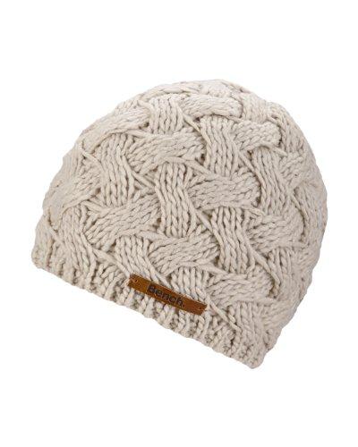 Bench Damen Ohrenschützer Mütze Lannah beige (oatmeal (ST023)) One Size