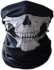 Halloween Mask Festival Skull Masks Skeleton Outdoor Motorcycle Bicycle Multi function Neck Warmer Ghost Half Face Mask Scarf mm