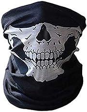Halloween Mask Festival Skull Masks Skeleton Outdoor Motorcycle Bicycle Multi function Neck Warmer Ghost Half Face Mask Scarf mm