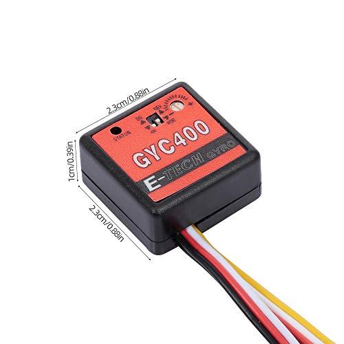 Goolsky GYC400 Mini Gyro Modul für RC Cars Drift Drive Control RC Car Zubehör
