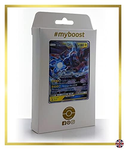 Zekrom-GX SM138 - #myboost X Sun & Moon 7.5 Dragon Majesty - Coffret de 10 Cartes Pokémon Aglaises