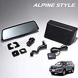 アルパインスタイル(ALPINE STYLE) ランドクルーザープラド 150系 (2017年9月~) デジタルインナーミラー 前後2カメラ ドライブレコーダー内蔵