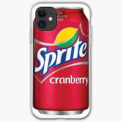 US191PC Case Sprite Cranberry iPhone Can | Unique Design Snap Phone Case Cover for All iPhone, iPhone 11, iPhone XR, iPhone 7/8/SE 2020.