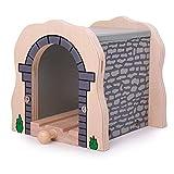 Bigjigs Rail Tunnel Grau Für Holzeisenbahn -