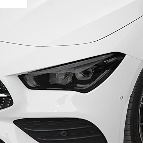 YYHHADM Car Headlight Protective Film Taillight Smoked Black Tint Wrap TPU Sticker,for Mercedes Benz CLA Class C118 AMG X118 W118
