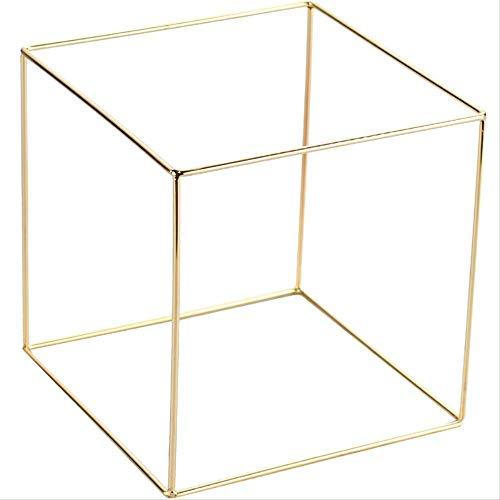Opslagruimte Organisator Rek Opknoping Sieraden Organizer Doos Goud Vergulde kubussen Polygonale Plank Display Stand Sieraden Stand Sieraden Stand Sieraden Stand