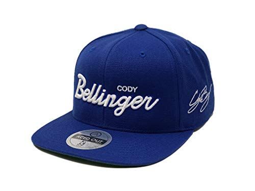 Cody Bellinger Script Hat - Snapback (Royal)