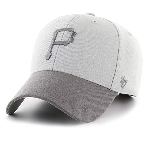 47 Brand Adjustable Cap - MVP Pittsburgh Pirates grau