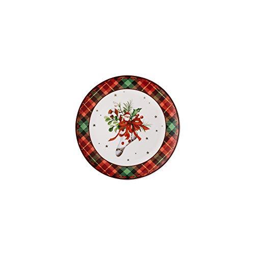 Hutschenreuther 02479-726008-10860 Assiette plate Rouge Vert