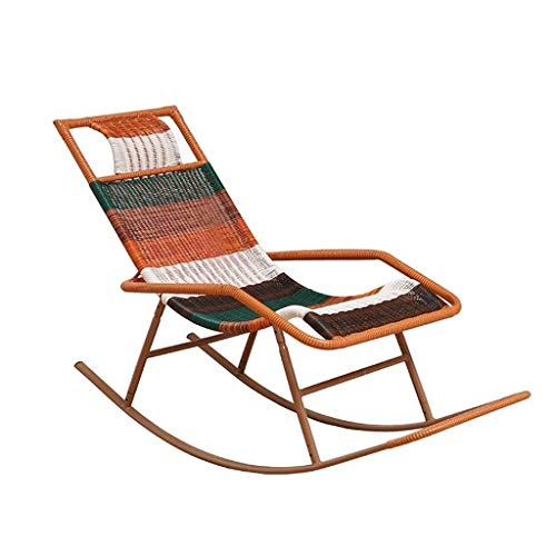 Recliner Rocking Chair Outdoor Garden Comfortable Balcony Lounge Chair