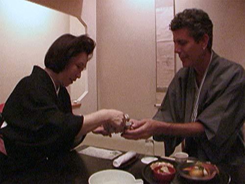 Dining with Geishas