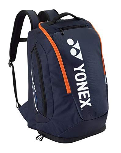 Yonex 9 Series Schlägertaschen, geeignet für Badminton, Tennis und Squash, Dark Navy, Pro Rucksack M