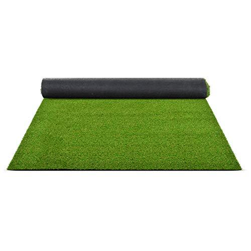Premium Kunstrasen | Rasenteppich | Rollrasen | Kunststoffrasen | Garten-Rasen | Rasen für Balkon, Terrasse & Garten | viele Modelle | verschiedene Größen & Stärken (Terraza (Höhe: 18mm), 100x200 cm)