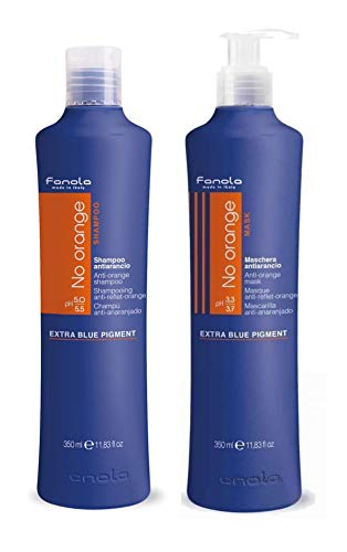 Fanola No Orange Shampoo & Masque Set 11.83 OZ each