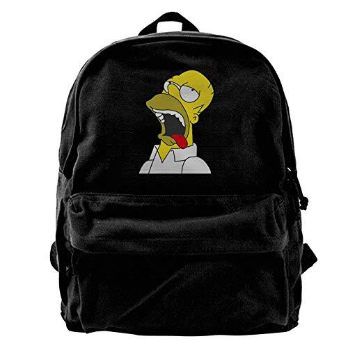 zhengdong Homer Simpson Canvas Gym Escursionismo Rusa Laptop Bapa Unisex Travel Busines Daypa