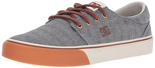 DC Shoes Trase TX Se, Zapatillas Deportivas para Hombre, Gris (Gris/Negro), 44.5 EU