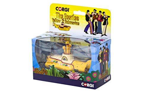 Corgi-El Submarino de los Beatles, Color Amarillo, Talla única (CC05401)