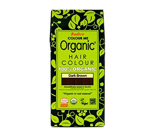 Radico Colour Me Organic Pflanzenhaarfarbe Dunkelbraun (bio, vegan, Naturkosmetik) dunkelbraun