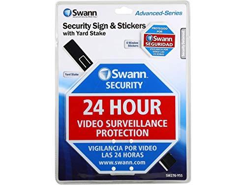 Swann sw276-yss Patio Juego de Seguridad señal de Advertencia