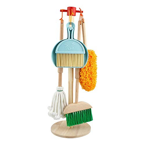 Juego de limpieza para niños, 6 piezas de juguete de simula