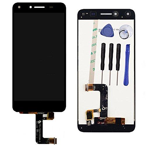 Draxlgon Visualización LCD Pantalla táctil Digitalizador Panel táctil Reemplazo para Huawei Y6 II Compact LYO-L01 LYO-L21 / Y5 II 2 CUN-L01 (Negro)