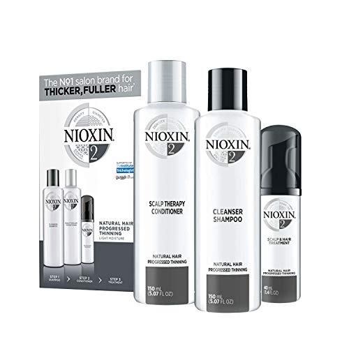 Nioxin System 2 Starter Set - für naturbelassenes Haar, 340 ml