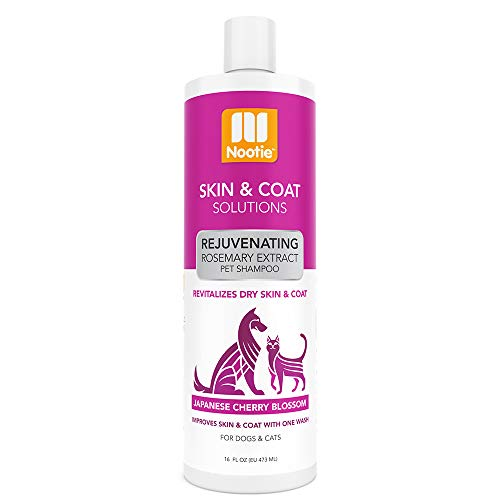NootiePet Shampoo Skin & Coat Solutions For Dogs & Cats   Improves Skin & Coat With One Wash-Formulated For Veterinarians