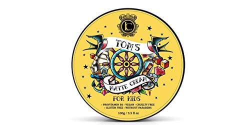 Toms Haargel Kinder Haar Styling Pomade - Starkes Haar Wax für Jungen und Mädchen Haarpflege - Grün Apfel Haar Clay Pomade Bestes Geschenke für Jugendliche 150 ml