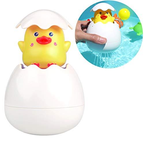 Joyibay Badespielzeug, Kinder Bade Bad Badewanne Spielzeug Duckling Hatching Bad Spielzeug Floating Baby Badespielzeug Wasserspielzeug Poolspielzeug für Kinder Badeset