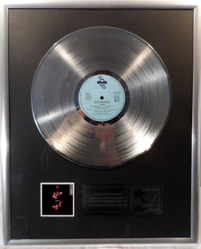 Depeche Mode Violator platin Schallplatte (goldene Schallplatte)
