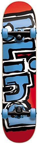 Blind Red Blue Matte OG Logo 7.7 Complete Skateboard by Blind