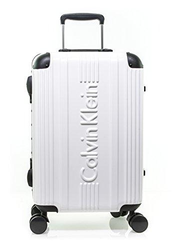 Calvin Klein Fulton Hardside Spinner Luggage, White