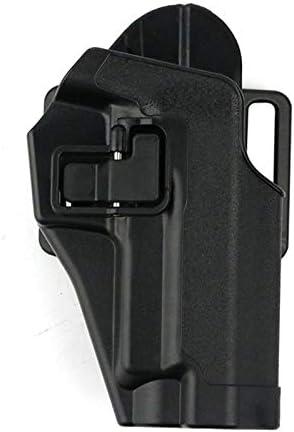 X-Baofu, Juego de pistola táctica de funda oculta for G17 M92 M1911 P226 Funda universal de cintura Funda de extracción rápida Funda de bloqueo Funda de ruger Funda de funda ( Color : P226 black )